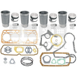 Kit révision moteur IH BD154 tracteur MacCormick 238, 364, 374, 384, B414, 424, 434, 444 Case IH