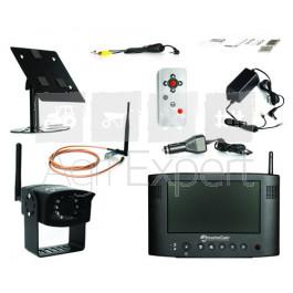 """Caméra de recul TractorCam sans fil 12/24V écran couleur 7"""", système de caméra pour machines agricoles, TP... Luda TractorCam"""