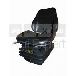 Siège étroit suspension pneumatique 12V COBO SC76 M97 matière TEP ou tissu.