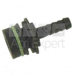 Raccord de sortie de vannes ARAG série 463 de Ø10mm Droit