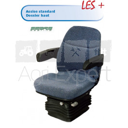 Siège mécanique tissus SEARS Seating MS1407. ( Fiat Ford Deutz)