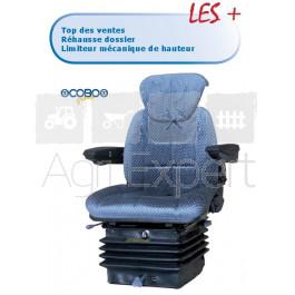 Siège suspension pneumatique Maxi M98 12V matière tissu avec contacteur de sécurité COBO
