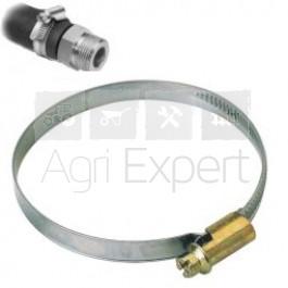 Colliers à vis en acier zingué norme DIN 3017 pour serrage des tuyau d'eau, liquide....