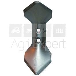 Soc 110X8x308 mm réversible renforcé pour Vibroflex