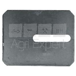 Grattoir acier  90x115 pour rouleaux Packer Amazone