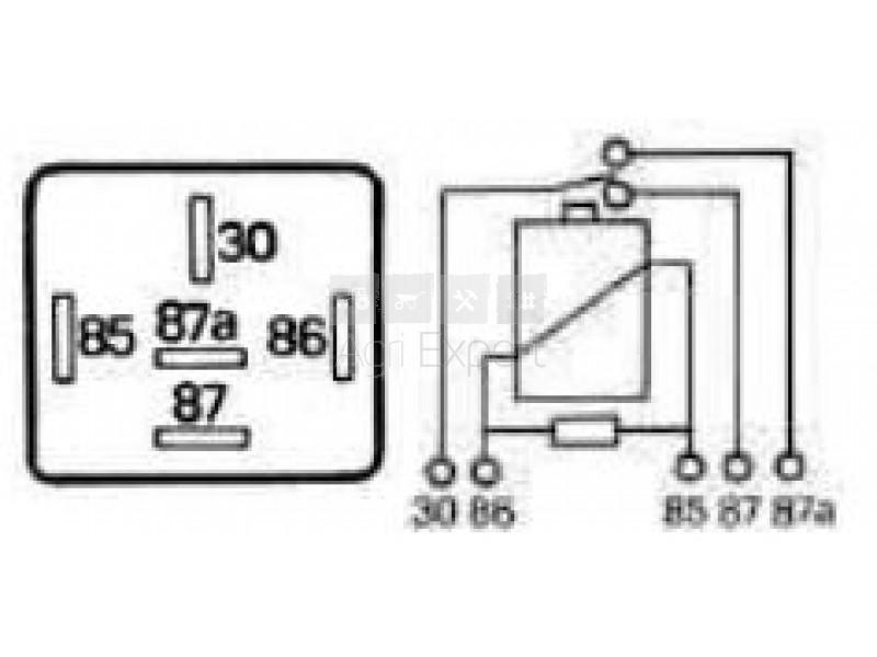 relais 5 broches 12 volts 5 amp res protection par r sistance eclairage signalisation. Black Bedroom Furniture Sets. Home Design Ideas