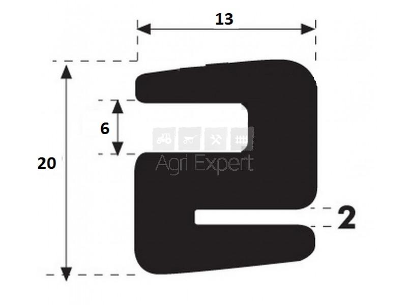 joint de pare brise en s. Black Bedroom Furniture Sets. Home Design Ideas