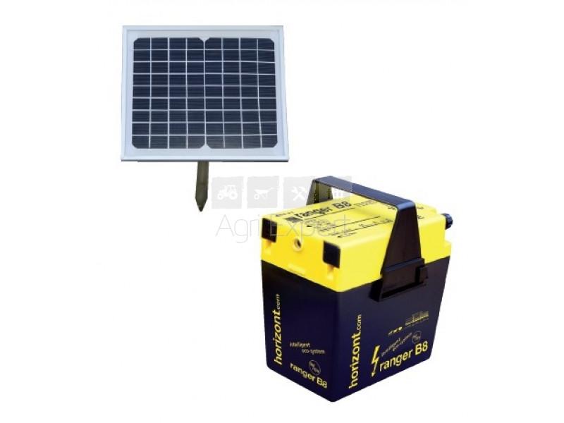 electrificateur cloture solaire kit solaire ranger b8 horizont. Black Bedroom Furniture Sets. Home Design Ideas