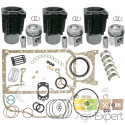 Kit rénovation moteur F3L912 Deutz 3 Cylindres avec pochette de joint complète. FL912