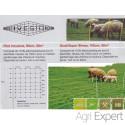 Filet à mouton avec piquet  hauteur 90cm longueur 50 mètres