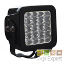 Phare de travail 16 LED 3520 Lumen 48W Lumitrack Eclairage large et longue porté combiné