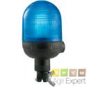 Feu à éclat Bleu Tige fixe Xénon 12/24V spécial engins déneigement ECE R65