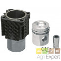 Kit cylindre piston moteur Deutz FL912, 93535960 monte d'origine Kolbenschmidt KS 02101175, 02137721, 02137726