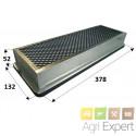 Filtre à charbon actif Case Série MAXXUM 100 à 140 et Série MXU 100 à 165 New Holland Série TSA.