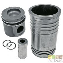 Cylindre piston complet moteur SISU 320D, 320DE, 320DS, 320DSRE, 420D, 420DS, 420DSRE, 620D, 620DS tracteur Case, Steyr, New-Holland 836655269 + 836640126 + 836647420