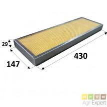 Filtre à pollen cabine tracteur Claas Ergos, Cergos OEM: 6005014242, 6005022169