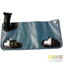 Pompe de lave-glace double 12V avec poche 2L
