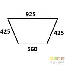 Bas de hayon arrière tractopelle New-Holland 550, 555, 655