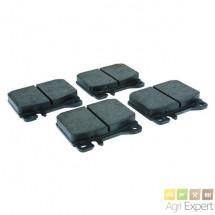 Plaquettes de frein Mercèdès MB-Trac 800, 900, 1000, 1100, 1300, 1400, 1500, 1600, 1800