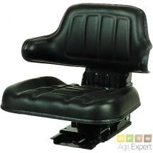 Siège suspension mécanique avec assise et dossier enveloppant.