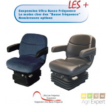 Siège suspension pneumatique étroite et assise standard AS 930 12V