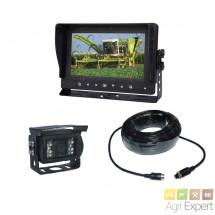 """Caméra de recul écran couleur LCD 7"""" Waterproof caméra angle de vision 130°"""