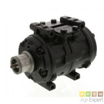 Compresseur type Nippo Denso 10PA15C 12 V Ø 132 mm 1 gorge huile 190 cm³ Nippondenso Sanden sans embrayage