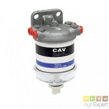 Filtre a carburant complet raccord M14 x 1,5 type CAV, LUCA, ROTO Diesel filtre CAV 296, FF167 A