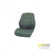 Housse assise dossier tissu pour siège Grammer DS85 H 90 A, DS85 H 1/90 A, LS95 H 1/90 A