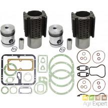 Kit de revision haut moteur MWM AKD112Z réfection moteur Fendt, Renault, MWM bis Cylindres. 7701454414, 7701456095