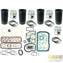 Kit de révision moteur BMC Leyland 4.98NT tractopelle JCB 2D, 3C, 3D, 520, 700 chemise 02/300101, 98/800101, 98/800100