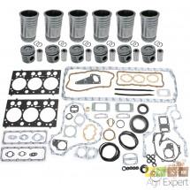 Kit de révision moteur SISU 620D Valtra 8000, 8050, 8100, 8150, 8450, 8450HI Case CS120, CS130, CS150