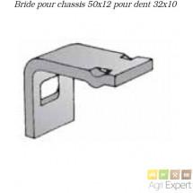 Bride pour dent de Vibroculteur 32x10