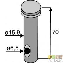 Axe pour dent de herse rotative Amazone D15.9 mm