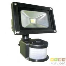 Projecteur LED avec détecteur de 10W, 20W, 30W