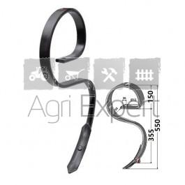 Dent de vibroculteur 32x10 hauteur 550 mm type Kongskilde, Gard, Quivogne...