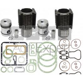 Kit de revision haut moteur MWM AKD112Z tracteur Fendt F24L, FL237, FLU237, Farmer 1, 1Z, F225GT Renault N72, super 3, réfection moteur MWM bis Cylindres. 7701454414, 7701456095