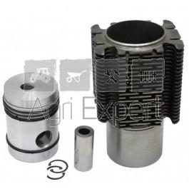 Kit cylindre piston MWM AKD112 tracteur Renault D22, D35, N70, N72, Super 3, Super 3D, Super 6, Super 6D, déstockage avec ailettes de refroidissement cassées.