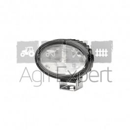 Phare de travail projecteur Oval 100 Hella 8 LED 1700 Lumens 12V / 24V pied pivotant