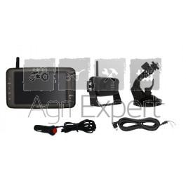 """TrailerCam 5D, écran 5"""" Système de caméra pour le transport des animaux et caméra de recul"""