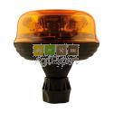 Gyrophare à LED flexible 12V / 24V fixation sur tige Homologué route R65 - R10