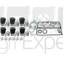 Kit de revision moteur F6L912 Deutz 6 Cylindres, pochette de joint complète. Deutz Fahr série FL912 - 02929968, 02929656