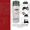 Aérosol peinture rouge Case IH àpd 1985 bombe de retouche 400 ml, teinte spécifique pour tracteur agricole, moissonneuse batteuse