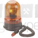 Gyrophare H1 12 V avec câble spiralée