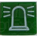 Symbole gyrophare pour interrupteur a bascule COBO Réf. : 9XT 713630