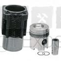 Kit cylindre piston moteur Deutz FL912, 91395962 monte d'origine KS