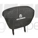 Appuie-tête en tissu gris siège Grammer New design