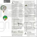 Manomètre pulvérisateur 0 à 25 bar Ø 100 mm