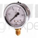 Manomètre de pulvérisateur 0 à 100 bar Ø 63 mm en laiton