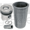 Cylindre piston moteur MWM D225, D225-3, D225-4, D225-6 tracteur Fendt Farmer 5, 103, 105, 106, Favorit 3, 4, 10, 11, 610